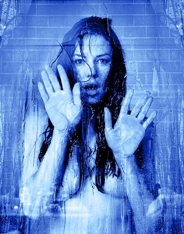 Krista Allen 801 in the shower