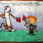 Artistic Mom Draws Pop Culture-Inspired Pictures On Napkins For Her Kids